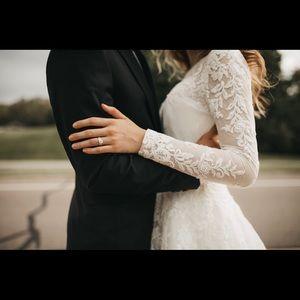wedding bolero lace